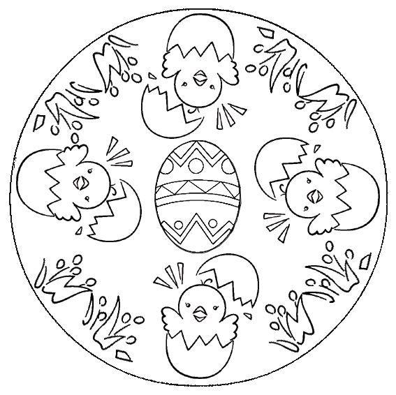 Mandalas Infantiles Para Pintar Y Colorear Best Ausmalbilder Ostern Mandala Ausmalen Mandala Ostern