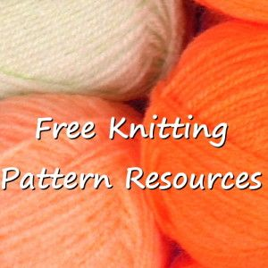 Free knitting pattern resources