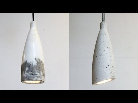 Create Your Very Own Concrete Pendant Lamp! - Gwyl.io