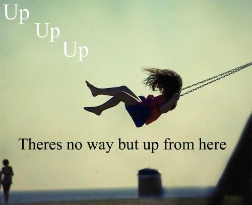 """Up where the clouds gonna clear - """"UP!"""", Shania Twain"""