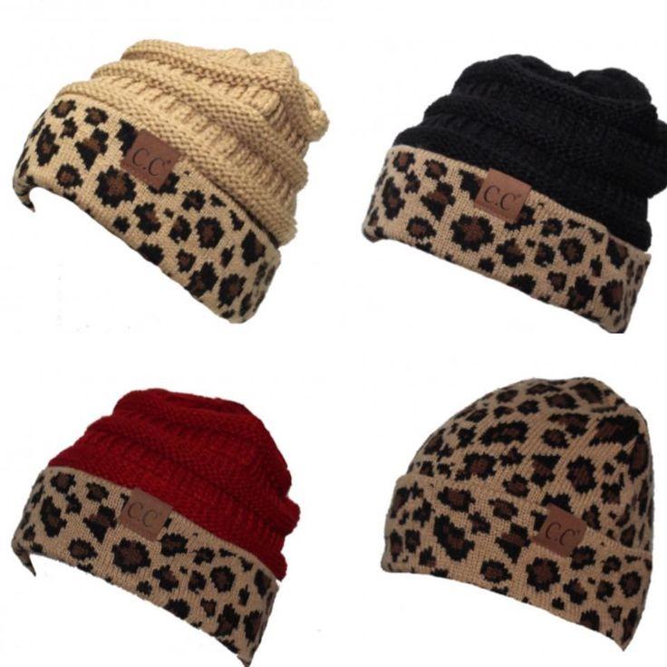 CC Beanies!! Leopard print! tons more colors!