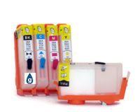HP364 et HP920 kit de 5 cartouches rechargeables (sans puces)