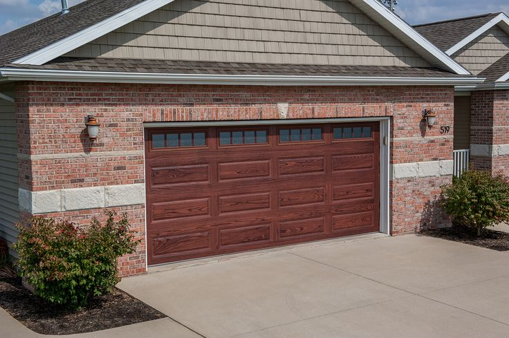 10 best raised panel garage doors images on pinterest for Best wood for garage doors
