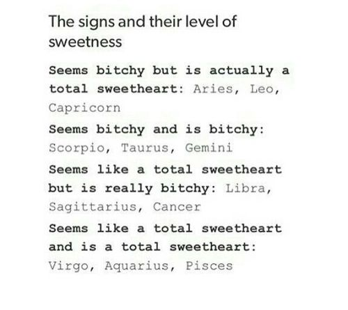I'm an aries and it's true for me, but don't want most to know. ;)