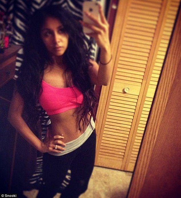 Snooki Nicole Polizzi weight loss