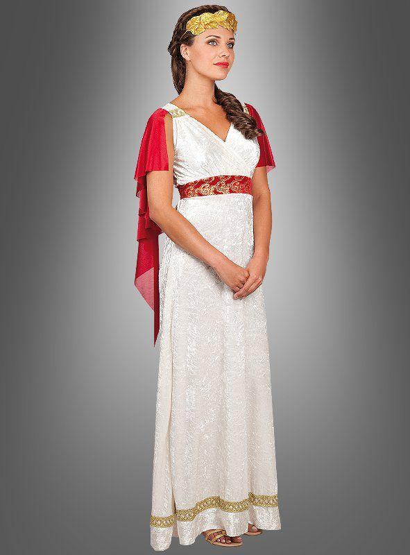 Römerin Kostüm Kleidung Kaiserin Karnevalskostüm Toga