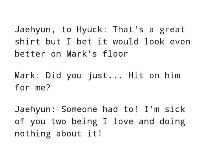 Pin By Н'Š Н'ð'ð'—𝒆 Н'Žð''𝒄𝒂𝒓𝒐𝒏𝒊 On Markhyuck Funny Kpop Memes Incorrect Quotes Nct