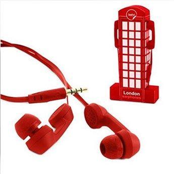 Kulaklık London Kırmızı