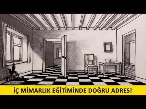 ic mimarlik cizim dersleri cizim teknikleri ruya avcisi resim kursu 01 7 - YouTube