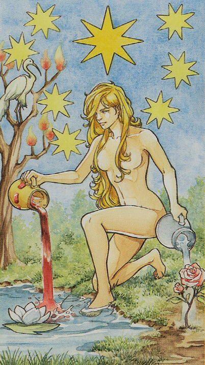 The Star - Lo Scarabeo Tarot