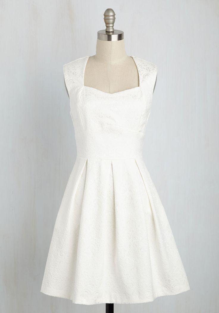 Long-Term Loveliness Dress in White