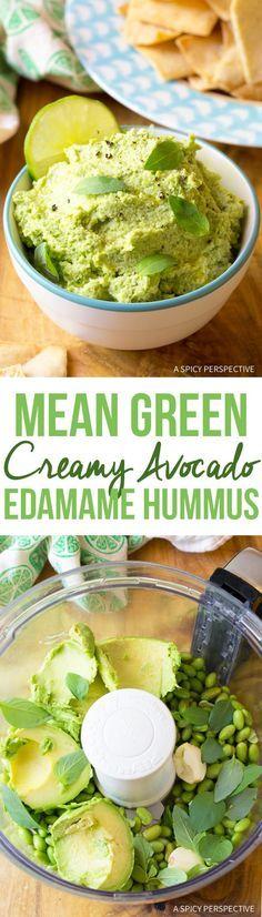 Creamy Avocado Edama Creamy Avocado Edamame Hummus Recipe : http://ift.tt/1hGiZgA And @ItsNutella  http://ift.tt/2v8iUYW