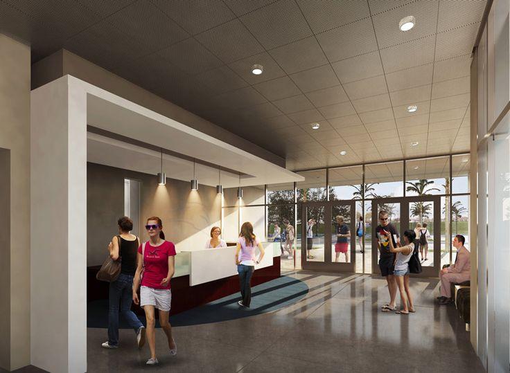 San Marcos High School Main Lobby School Design Research Pinterest Home Entrances High