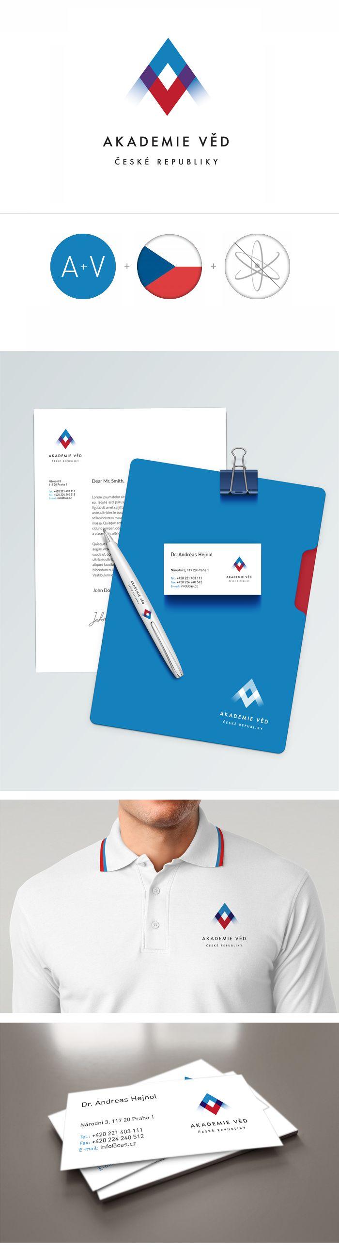 Academy of science Czech Republic identity