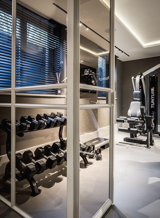 Nijboer - particuliere klant #huis #woonhuis #gym #sportschool #interieur #design #inspiration