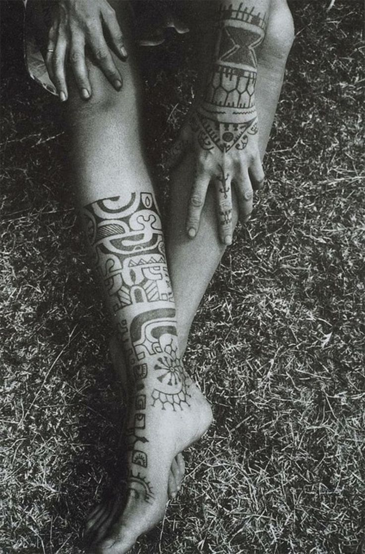 aztec symbols and meanings | Aztec Tribal Tattoos – What They Mean to Girls and Women
