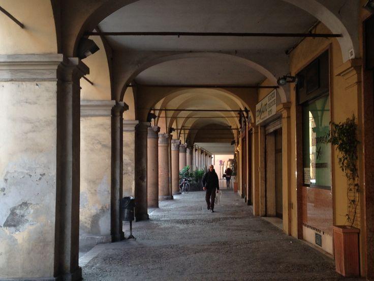 #Forlì un colonnato tipico