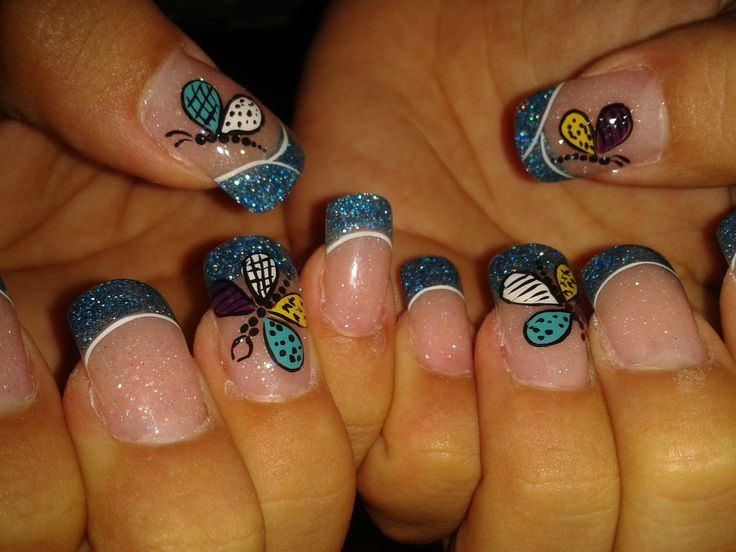 22 best my nails designs mis uitas images on pinterest my dragon fly nails design i liked this so much prinsesfo Choice Image