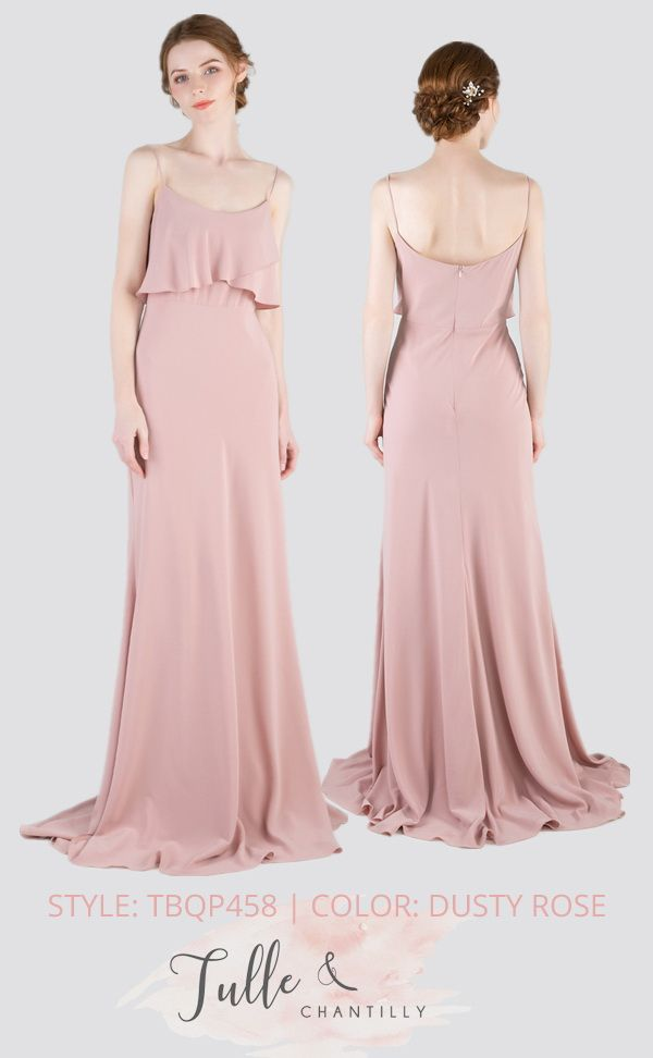 3c62c55b98 new arrival dusty rose bridesmaid dress TBQP458  wedding   weddinginspiration  bridesmaids  bridesmaiddress  bridalparty  maidofhonor   weddingideas ...