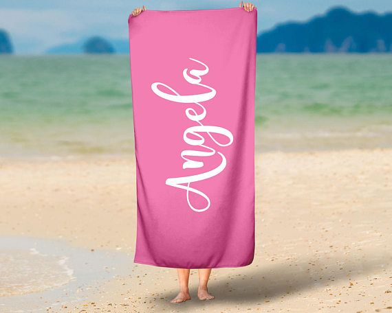 Personalized Beach Towel  Design your Own Beach Towel