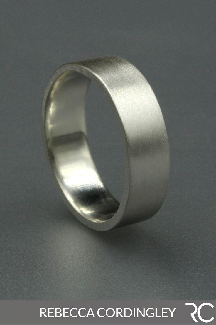 Sterling Silver Ring Silver Ring Wedding Wedding Band