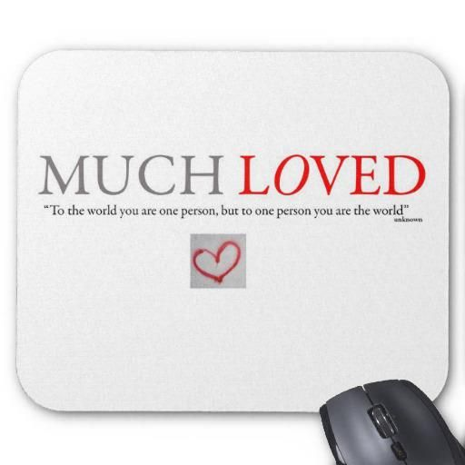 Mousepad Quote design Available in a range of designs