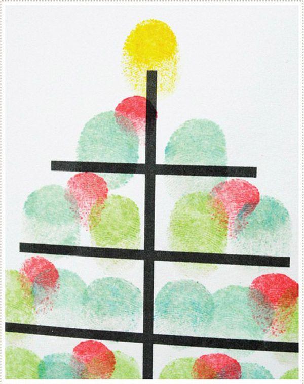 M s de 25 ideas fant sticas sobre tarjetas de navidad - Tarjetas de navidad hechas por ninos ...
