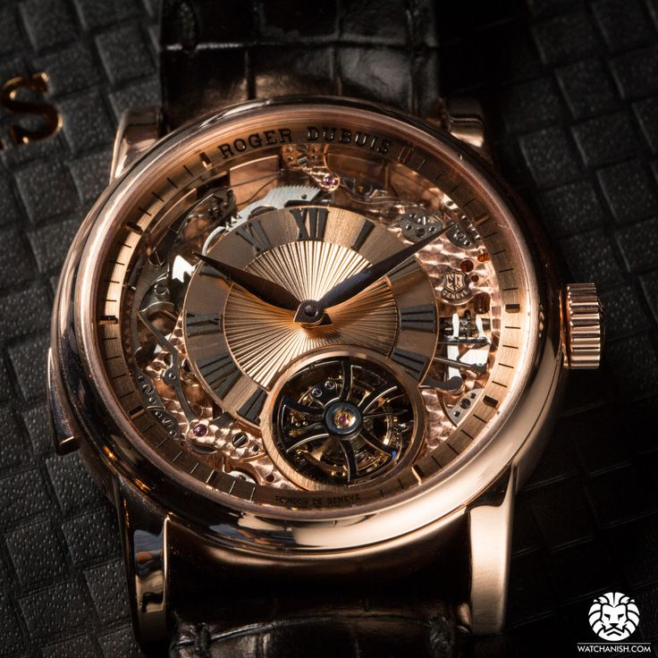 Now on WatchAnish.com - The new Roger Dubuis Hommage Minute Repeater Tourbillon Automatic.  #montresfantaisies, #montresfemme, #bijoux, #bijouxfantaisiefemme