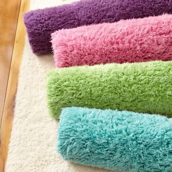 Ultra Plush Rug, Bright Pink | PBteen