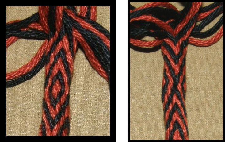 decorative knots and braids
