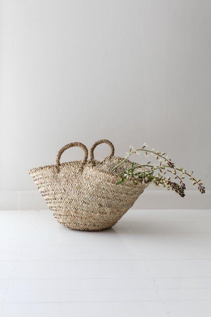 Handcrafted Market Basket   Medium