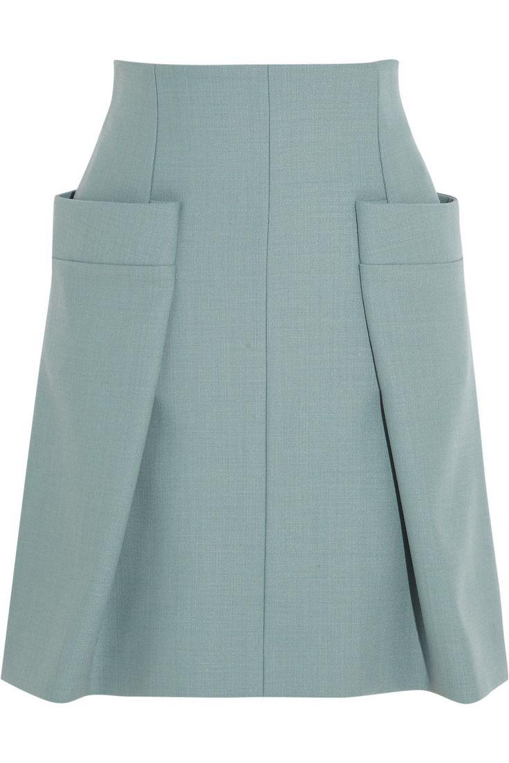 Chloé|Woven A-line skirt|NET-A-PORTER.COM
