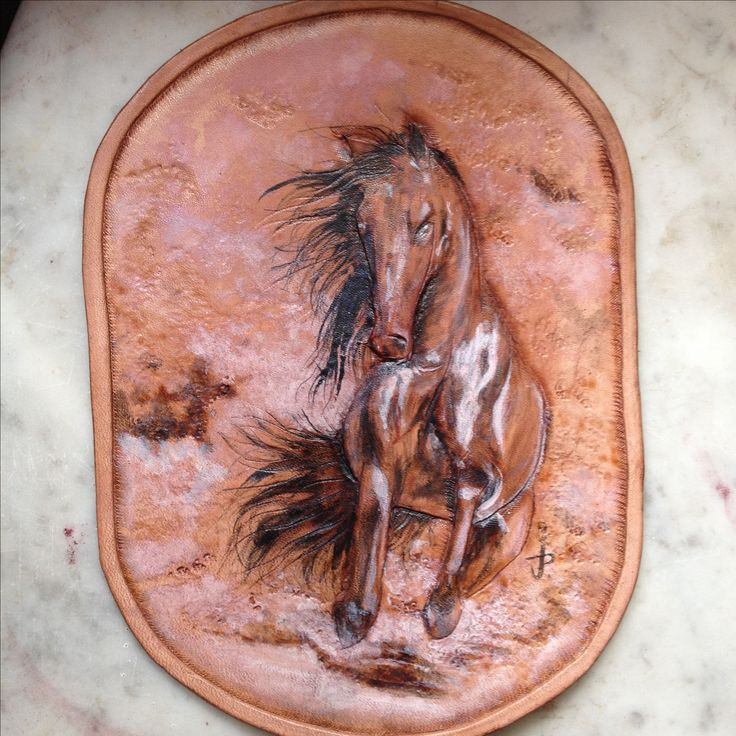 Wall Art leather,.
