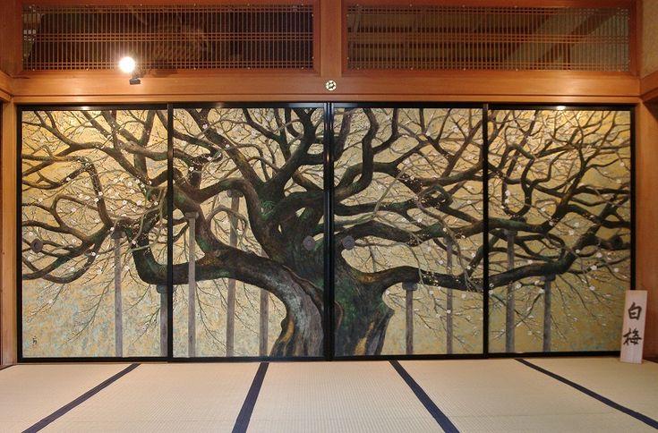 Hakubai (artist: Kobayashi Syouji 1923-2002) (houdou-ji Temple, Saitama)