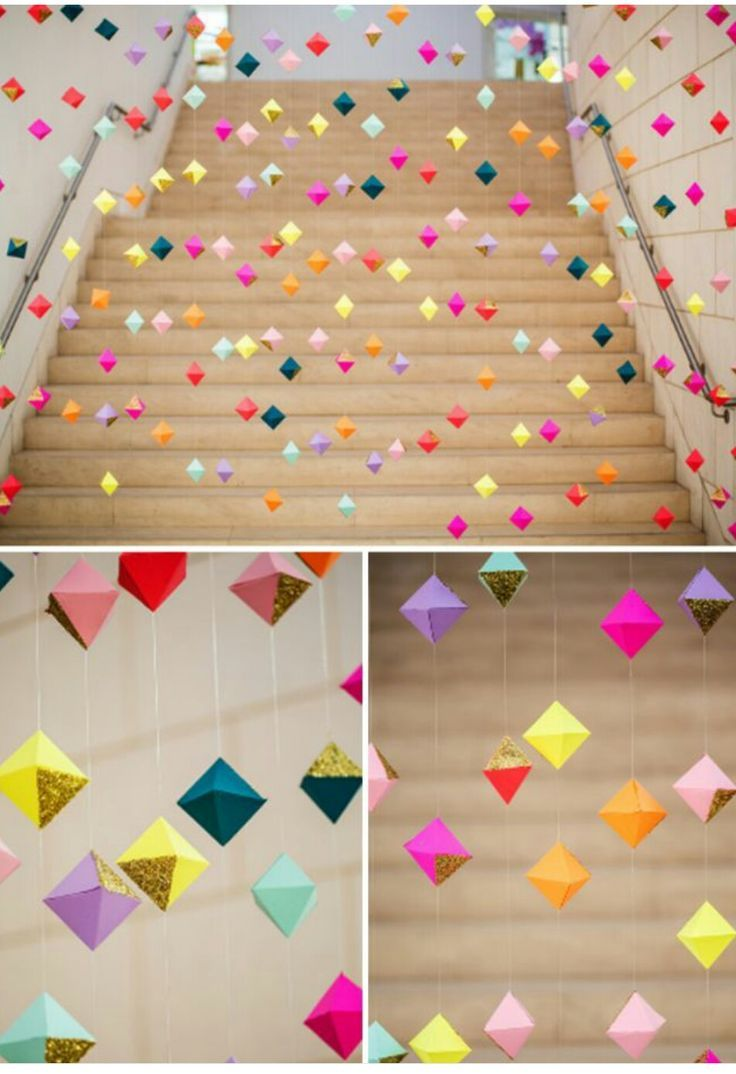 Have These In Gold And White Paper Craft Ideas Paper Garland