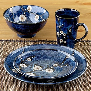 cherry blossom dinnerware sets of 6 to set your table with an appealing