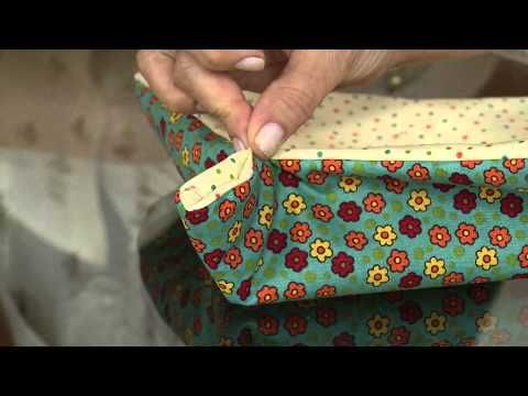 ▶ Aprenda a fazer uma linda cesta para sua mesa do café da manhã! - YouTube