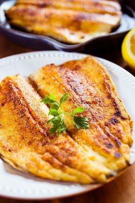 Pan fried rainbow trout.  I tried this tonight. I have found another way to prepare trout. This by far is my favorite and the most healthy way to prepare.