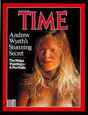 "Andrew Wyeth's ""Helga Paintings"" This Time magazine was my first taste of Wyeth...and where i fell in love with Christina's World"