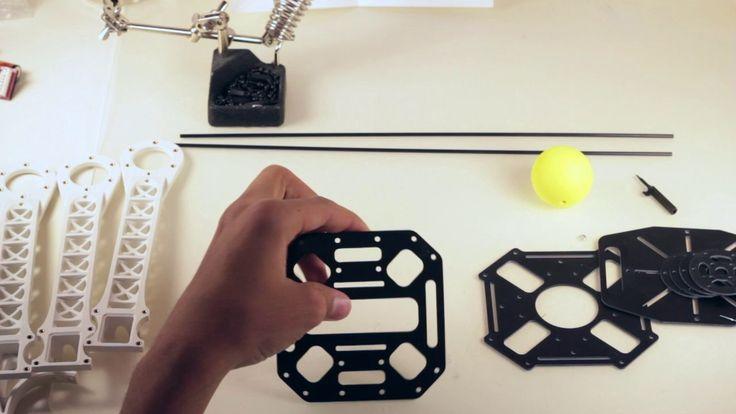 how to build a quadcopter drone