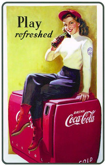 Bebidas. Coca Cola @@@@......http://www.pinterest.com/marajosmuoz/publicidad-antigua/