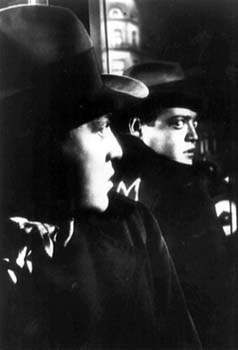"Fritz Lang's ""M"" with Peter Lorre, before he came to the US."