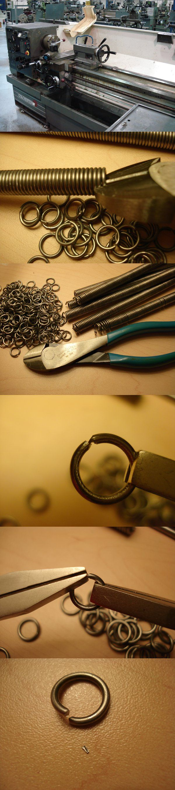 """How to Make Chainmail """"The Basics"""" - Continued Part Two: Preparing the Rings This step deals with creating the actual rings of the Chainmail. This step requires a little experimentation. As always,..."""