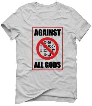 AGAIN ALL GODS Koszulka Tshirt Bluza Męska Damska