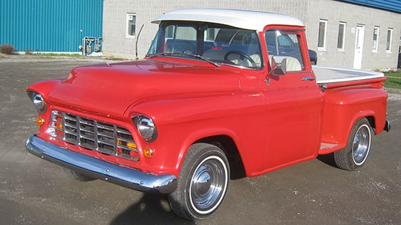 1955 Chevrolet 3100 Stepside Pickup Custom