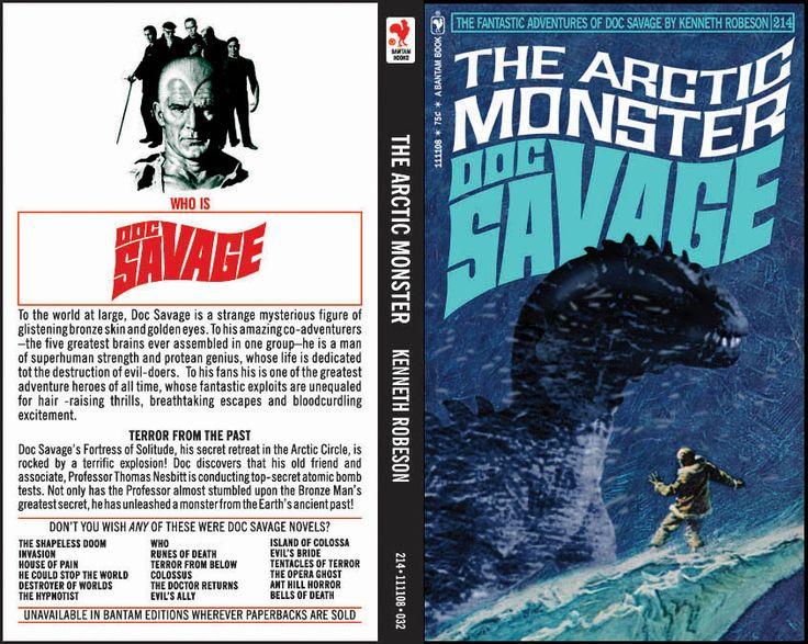 Book Cover Fantasy Baseball : Best doc savage books stuff images on pinterest
