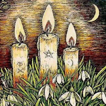 Shadows magick place: Imbolc Fire oil and Weather divination