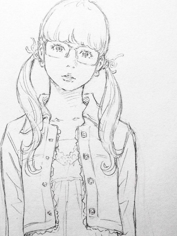 """窪之内英策 Eisaku on Twitter: """"眼鏡女子。 https://t.co/ebyreYUzyB"""""""