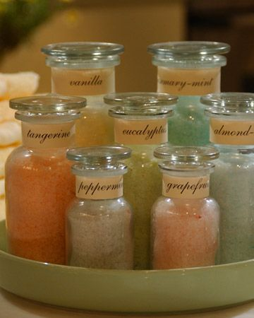 Homemade Bath Salts | Step-by-Step | DIY Craft How To's and Instructions| Martha Stewart