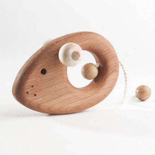 Погремушка-грызунок Мышонок (Леснушки)